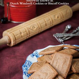Dutch Speculaas Cookies.