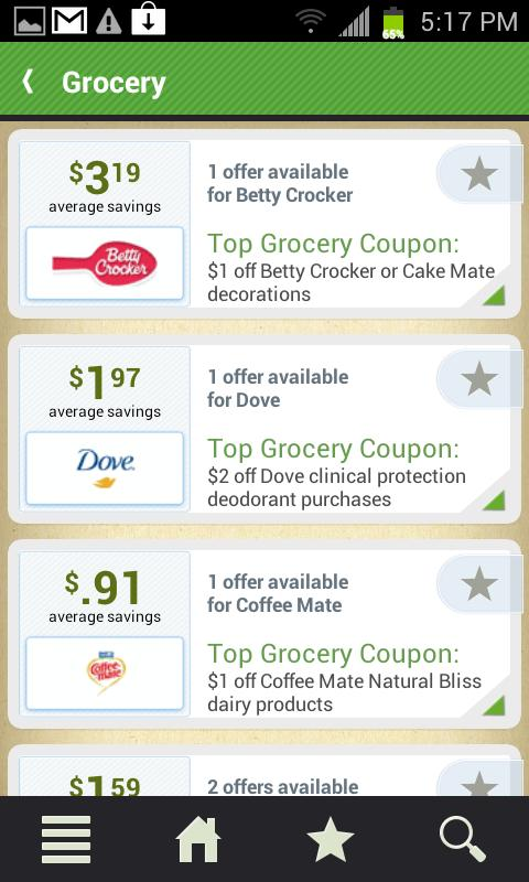 Couponcabin coupons deals android apps on google play for Coupon cabin app