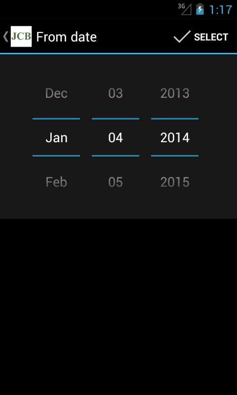 Johnson City Mobile Banking - screenshot