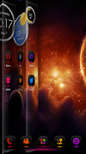 Next Launcher Theme MagicMix - screenshot thumbnail