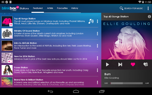 blinkbox music - screenshot thumbnail