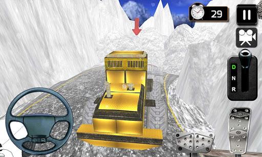 3D雪卡車司機