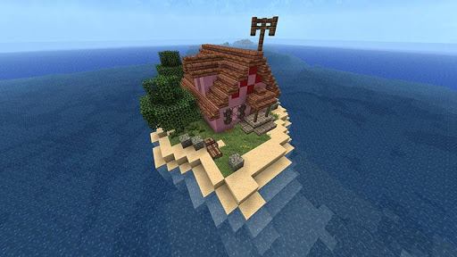 Amazing Island of Minecraft