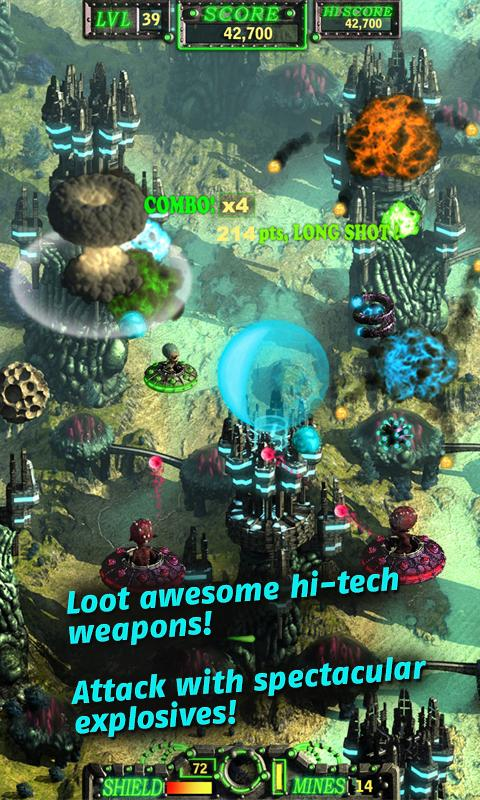 Zixxby: Alien Shooter - screenshot