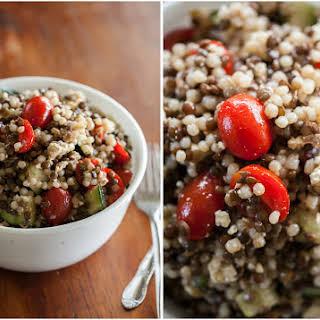 Couscous and Lentil Salad.