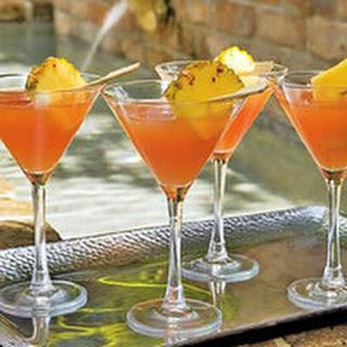 Classic Hurricane Cocktails.