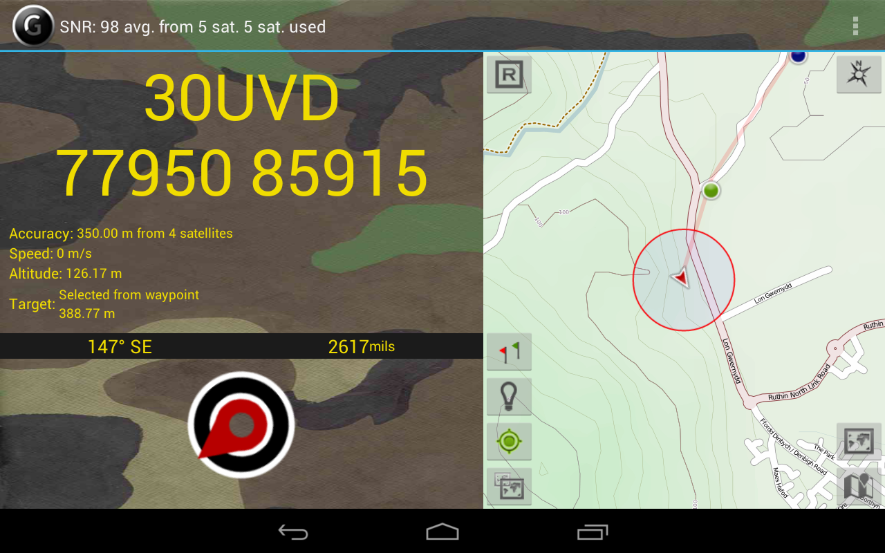 GPS   Grid Reference - Full- screenshot