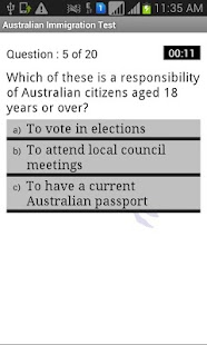 Australian Citizenship Test - screenshot thumbnail