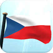 Czech Republic Flag 3D Free