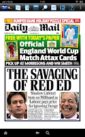 Screenshot of Daily Mail Plus