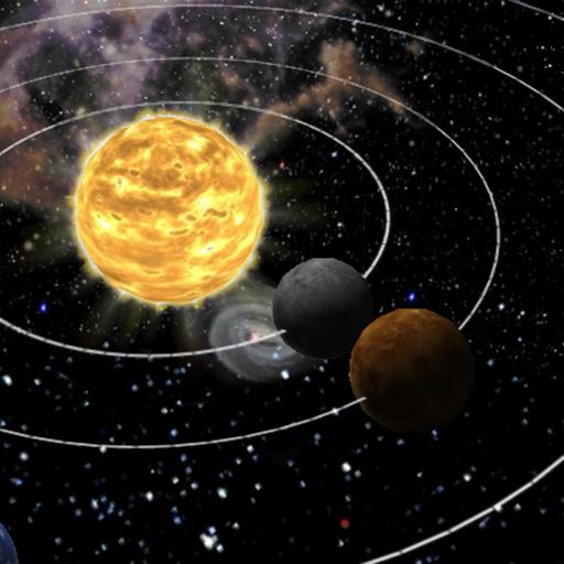 3D Solar System live Wallpaper 個人化 App LOGO-APP試玩