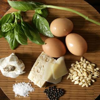 Soft Scrambled Eggs With Pesto and Fresh Ricotta
