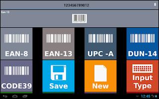 Screenshot of Barcode Creator Trial
