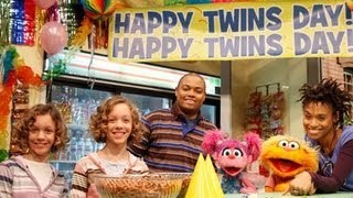Twins Day on Sesame Street