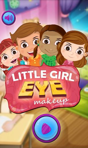 Little Girl Eye Makeup