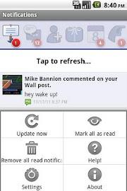 MB Notifications for Facebook Screenshot 4
