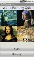 Screenshot of World Painting Quiz