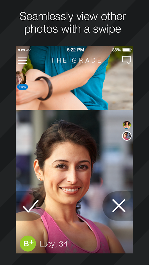 The Grade Dating App- screenshot