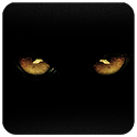 Black Danger GO Launcher theme icon