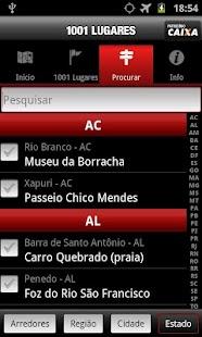 1001 Lugares no Brasil para co - screenshot thumbnail