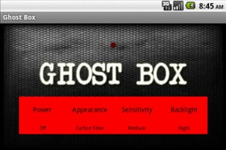 Ghost Box SPIRIT FRANK'S BOX- screenshot thumbnail