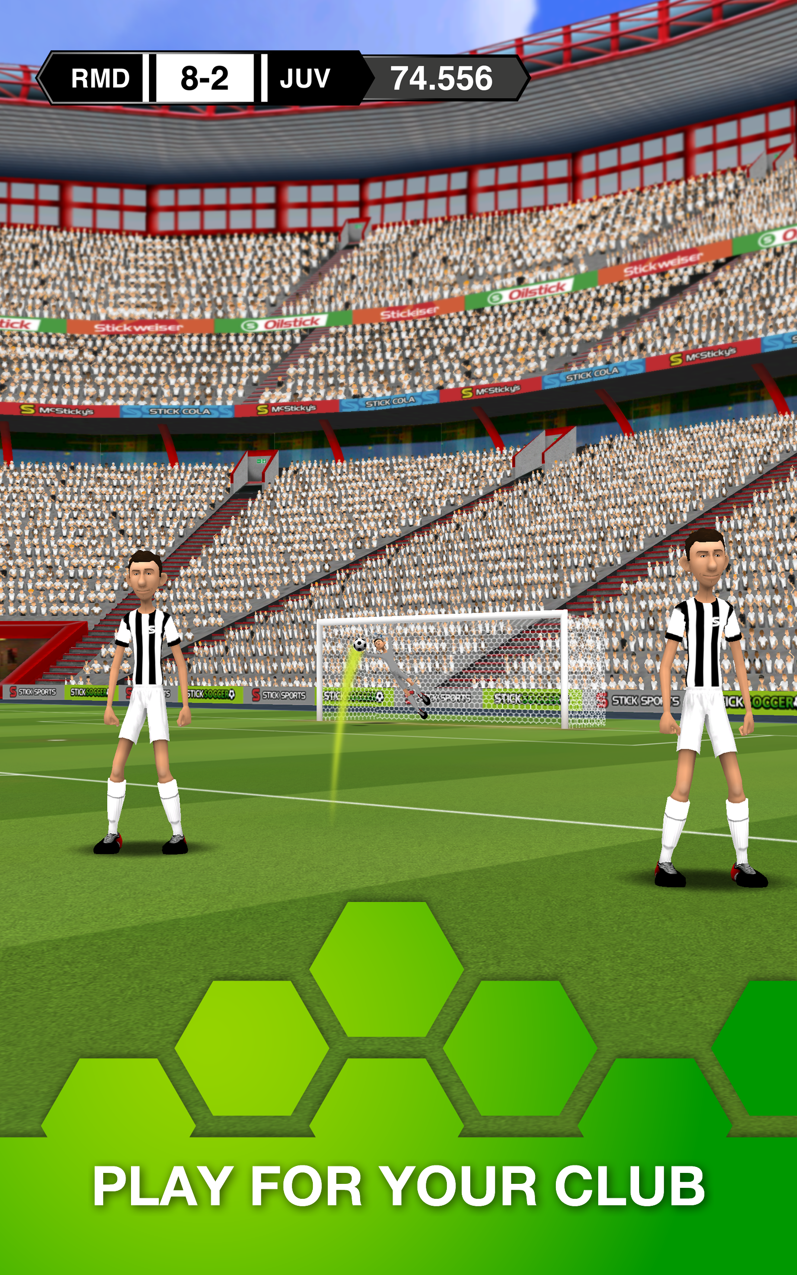 Stick Soccer screenshot #8