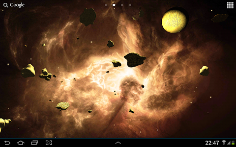 Asteroids 3D live wallpaper screenshot 10