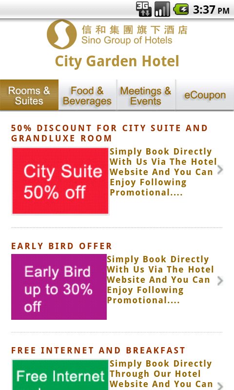 City Garden Hotel Hong Kong Android Apps on Google Play