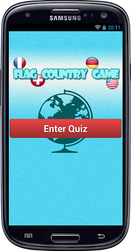 Flag country game