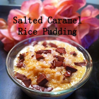 Salted Caramel Rice Pudding