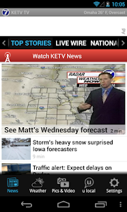 KETV 7 TV - news and weather - screenshot thumbnail