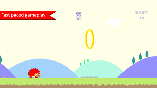 Hedgy Jumper- screenshot thumbnail