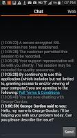 Screenshot of Bomgar Support Client