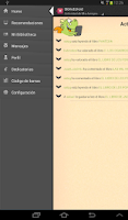 Screenshot of BiblioEdroid