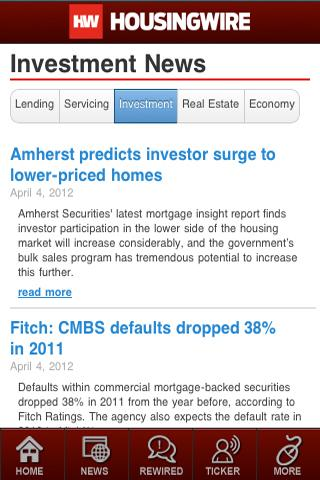 HousingWire - screenshot