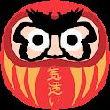 Grumpy Daruma icon