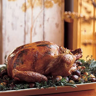 Herb-Roasted Turkey.