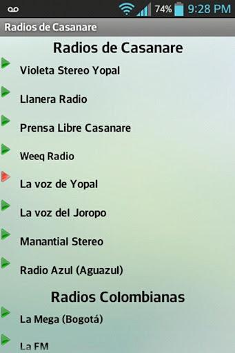 Radios de Casanare