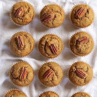 Vegan Banana Pecan Muffins