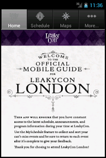 LeakyCon - screenshot thumbnail