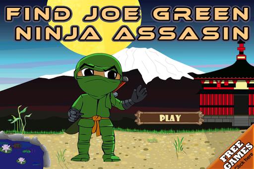 Find Joe Green Ninja Assasin