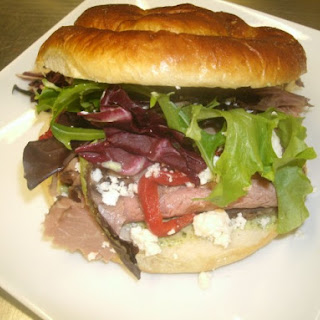 Pesto Beef Sandwich