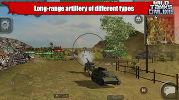 Screenshot of Wild Tanks Online
