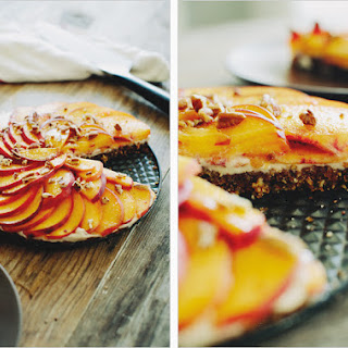 SUMMER PEACH TART