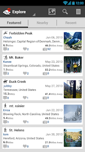 ramblr (hiking, gps, map)- screenshot thumbnail