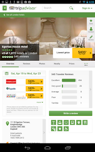 TripAdvisor Hotels Flights- screenshot thumbnail
