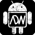 Dark Grunge ADW HD Theme logo