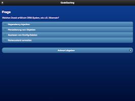 Screenshot of CodeCaching