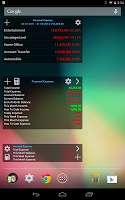 Screenshot of Expense Manager