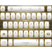 Theme TouchPal Frame W Gold